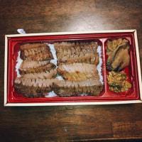 広島の百貨店のお弁当博で、牛タン弁当。
