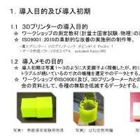 記事3Dプリンター導入メモ