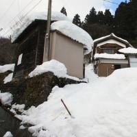 19日大野税務署。20日屋根雪降し。