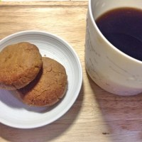 ざっくりマカダミアナッツ入りクッキー