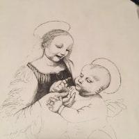 さびしさを友情としてレオナルドの西瓜のごとき幼子を描く