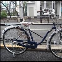 ★お買い上げ・新車・アサヒ・ラピス26インチ・3段ギヤ・LEDオートライト・ブルー