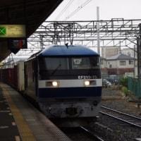 EF210-12号機@吹上駅