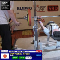 2017 World Classic Bench Press(新屋敷選手)