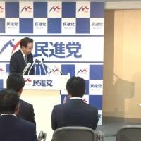 蓮舫代表が野田元首相を幹事長にした意味。改憲は加速。TPP国会は悲惨なことに。