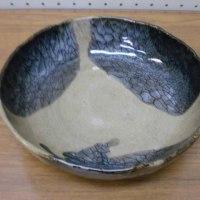 塚原さんの還元焼成中鉢