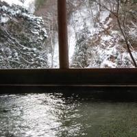 白布温泉 中屋別館 不動閣~湯の花いっぱいの日帰り雪見露天風呂~山形県米沢市