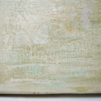 油彩作品の修理:その4