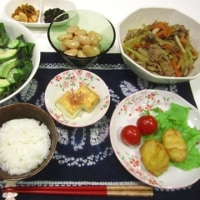 ☆牛肉とブロッコリーの茎の炒め物☆