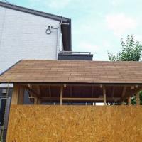 男の夢 ガレージ製作 ⑦屋根作りー3