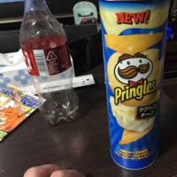 かなり久しぶりにプリングルスを食べた