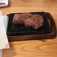 今日の昼ごはん やっぱりステーキ