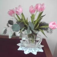 花 春 チューリップ