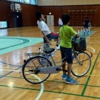 自転車大会の練習