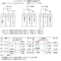 岐阜地区シニアオープン予選試合結果