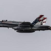 12月4日 横田基地 VMFA-115 Silver Eagles FA-18