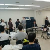 東海北陸理容競技大会訓練会 第1回目