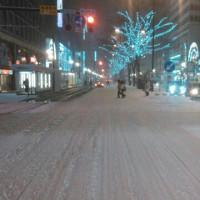 札幌は大雪