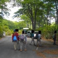野沢温泉と信越トレイル(茶屋池)散策;2日目(2);茶屋池を一周