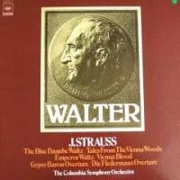 ◇クラシック音楽LP◇ブルーノ・ワルター&コロンビア響のヨハン・シュトラウス名品集