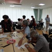 高輪CCクラブの「かんがりと折り紙の会」が開かれました