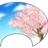 猫爺の才能なし俳句「桜と二宮金次郎像」