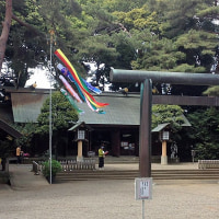 氷川神社へ行ってきた