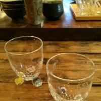 沖口こずえさんのビー玉ガラス