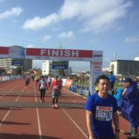 おそくなりましたが、かすみがうらマラソン2016参加記録