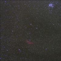 16/11/05  県民の森 「秋の陣もまさかの風との戦い!」 part8最終回 「まぐれで撮れちゃった、すばるとカルフォルニア星雲!?」