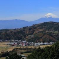 富士山 函南町 長光寺周辺の秋彩追い...