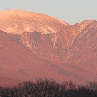 夕焼け浅間山 3