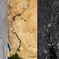 川で知る、地球・火星・タイタンの地形の歴史