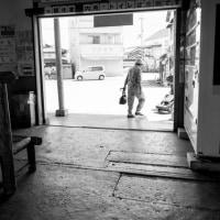 日野駅にて(滋賀県日野町 近江鉄道)