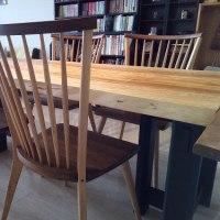 【期間限定‼一枚板テーブルのお買い得コーナーを作りました。】一枚板と木の家具の専門店エムズファニチャーです。