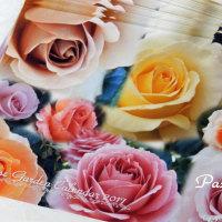 薔薇の園のカレンダーに添えて...