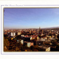 クルジュ・ナポカ風景 Radio Romania Int. ベリカード