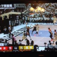 バスケットボール観戦に上京!