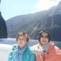 ニュージランドの旅の一コマ