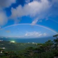 夜の虹・月の虹&そらちゃんのバック2