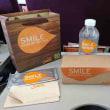 タイの国内線 タイスマイル航空の無料機内食