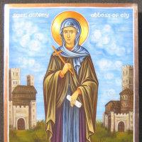聖エテルドレダ修道女  St. Etheldreda