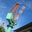 博多港の造船所