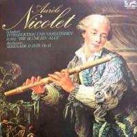 ◇クラシック音楽LP◇オーレル・ニコレのフルート演奏によるシューベルト:「『しぼめる花』による変奏曲」他