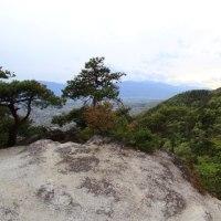 甲斐駒ケ岳に沈む夕陽を狙うが・・・失敗 甲府市白山  平成29年4月27日