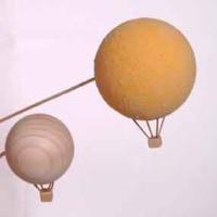 気球 発泡スチロール