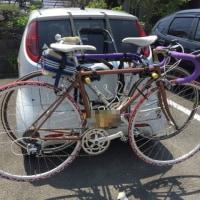 回収サイクリング。