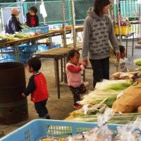 さぁ~12月、野菜がグンと美味しくなるこの時期 本日も止々呂美ふれあい朝市を開催…