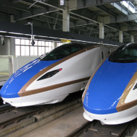 北陸新幹線(福井帰省からの戻り(2017.1)(2))
