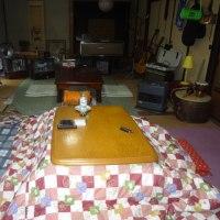 29-01/22 寒い日は古民家でノンビリ。